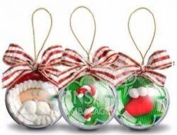 Esfera de Acrilico - Bola de Natal
