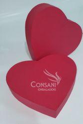 Coração Cartonagem G - C/ 5 Cm de Altura