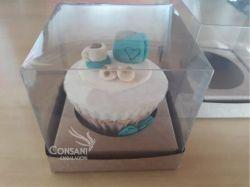 P/ 1 cupcake 8,0 x 8,0 x 10,0 - Simples Kraft