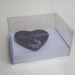 Cx. p/ 1 Coração de 500 grs  - Cartonagem