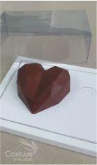 Cx. p/ 1 Coração de Colher 200 grs - Dobradura