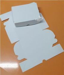Cx. P/ Doces e Salgados (Ideal P/ 20 Doces) Branco