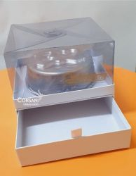 Cx P/ Bolo C/ Gaveta 25 bombons - 18,0 x 18,0 x 10,0