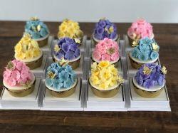 P/ 1 Cupcake 8,0 x 8,0 x 10,0 - C/ Berço - CARTONAGEM