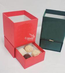 Cachepot C/ Gaveta 04 bombons - CARTONAGEM
